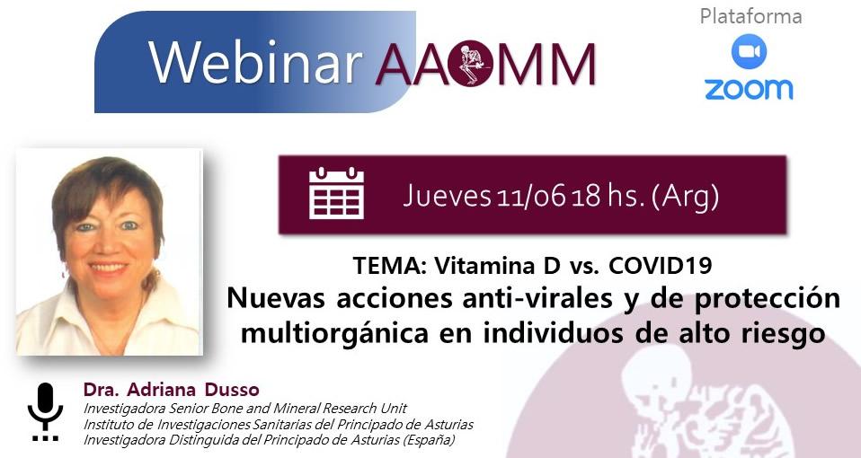 Webinar AAOMM – Dra. Dusso