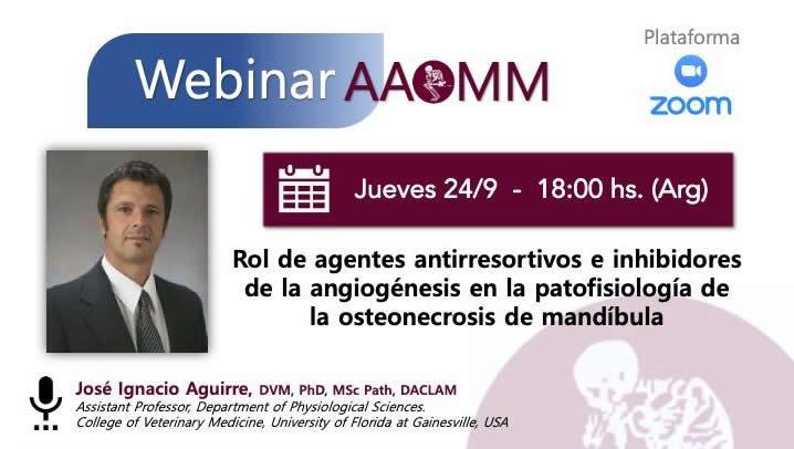 Webinar AAOMM – Dr. Aguirre