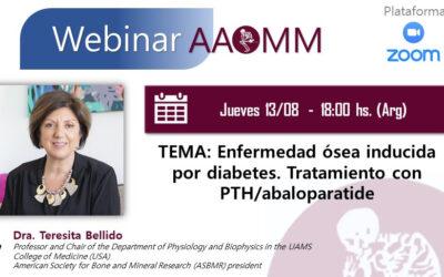 Webinar AAOMM – Dra. Bellido