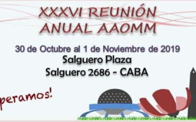 Reunión Anual AAOMM 2019