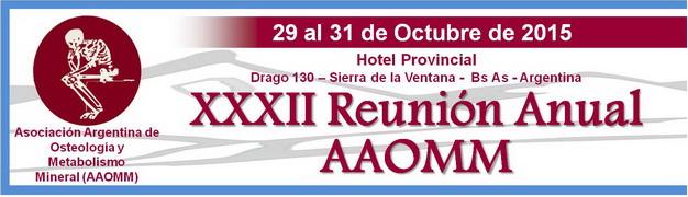 Reunión Anual AAOMM 2015