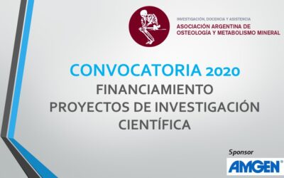 Convocatoria Financiamiento 2020