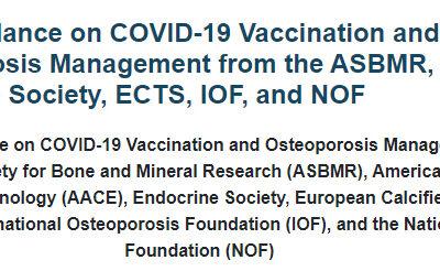 Vacunación covid-19 y tratamiento osteoporosis