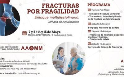Jornadas Fracturas por Fragilidad Mayo 2021