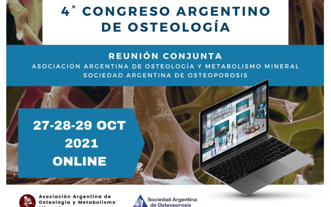 Congreso Argentino de Osteología 2021