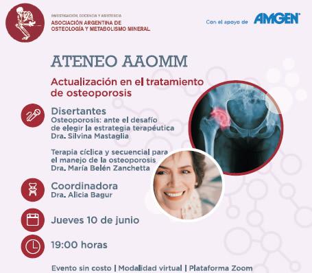 Ateneo: Actualización en el tratamiento de osteoporosis