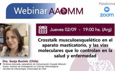 Webinar AAOMM: Dra. Buvinic